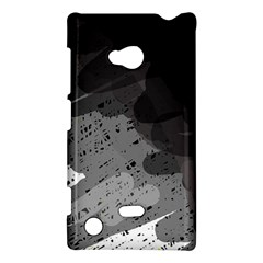 Black and gray pattern Nokia Lumia 720