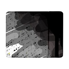 Black and gray pattern Samsung Galaxy Tab Pro 8.4  Flip Case
