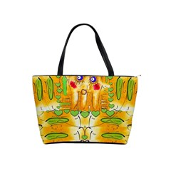 Mister Jellyfish The Octopus With Friend Shoulder Handbags