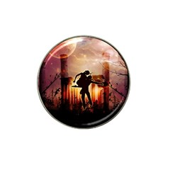 Dancing In The Night With Moon Nd Stars Hat Clip Ball Marker (4 pack)