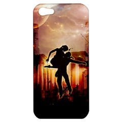 Dancing In The Night With Moon Nd Stars Apple Iphone 5 Hardshell Case