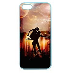 Dancing In The Night With Moon Nd Stars Apple Seamless iPhone 5 Case (Color)