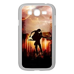 Dancing In The Night With Moon Nd Stars Samsung Galaxy Grand Duos I9082 Case (white)