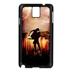 Dancing In The Night With Moon Nd Stars Samsung Galaxy Note 3 N9005 Case (black)