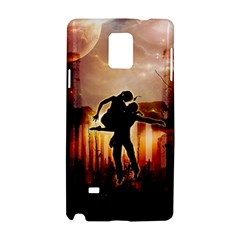 Dancing In The Night With Moon Nd Stars Samsung Galaxy Note 4 Hardshell Case