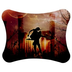 Dancing In The Night With Moon Nd Stars Jigsaw Puzzle Photo Stand (Bow)