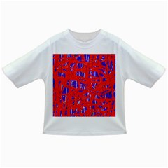 Blue and red pattern Infant/Toddler T-Shirts