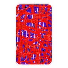 Blue and red pattern Memory Card Reader