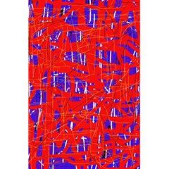 Blue and red pattern 5.5  x 8.5  Notebooks