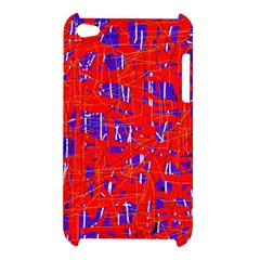 Blue and red pattern Apple iPod Touch 4