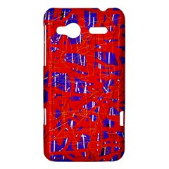 Blue and red pattern HTC Radar Hardshell Case