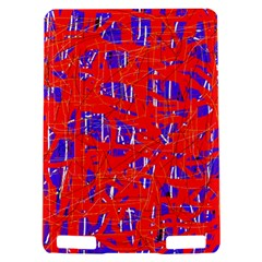 Blue and red pattern Kindle Touch 3G