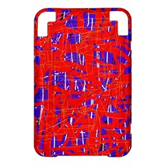 Blue and red pattern Kindle 3 Keyboard 3G