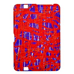 Blue and red pattern Kindle Fire HD 8.9