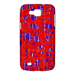 Blue and red pattern Samsung Galaxy Premier I9260 Hardshell Case