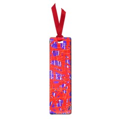 Blue and red pattern Small Book Marks