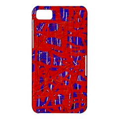 Blue and red pattern BlackBerry Z10