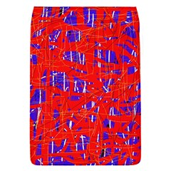 Blue and red pattern Flap Covers (S)