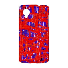 Blue and red pattern LG Nexus 5