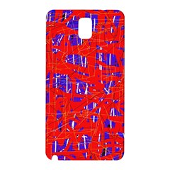 Blue and red pattern Samsung Galaxy Note 3 N9005 Hardshell Back Case