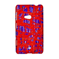 Blue and red pattern Nokia Lumia 625