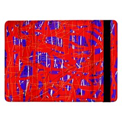 Blue and red pattern Samsung Galaxy Tab Pro 12.2  Flip Case
