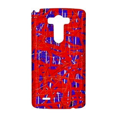 Blue and red pattern LG G3 Hardshell Case