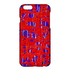 Blue and red pattern Apple iPhone 6 Plus/6S Plus Hardshell Case