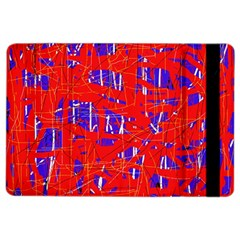 Blue and red pattern iPad Air 2 Flip