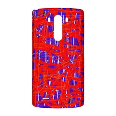 Blue and red pattern LG G3 Back Case