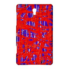 Blue and red pattern Samsung Galaxy Tab S (8.4 ) Hardshell Case