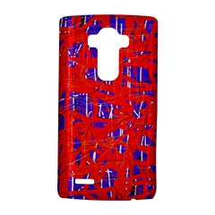 Blue and red pattern LG G4 Hardshell Case