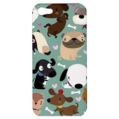Dog Pattern Apple Iphone 5 Hardshell Case