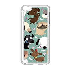 Dog Pattern Apple iPod Touch 5 Case (White)
