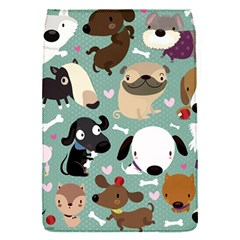 Dog Pattern Flap Covers (S)