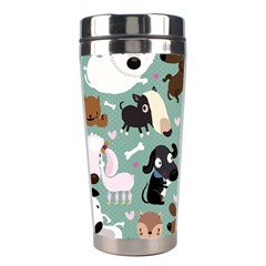 Dog Pattern Stainless Steel Travel Tumblers