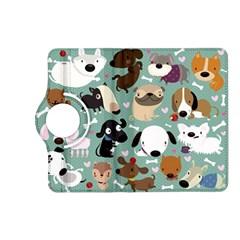 Dog Pattern Kindle Fire HD (2013) Flip 360 Case