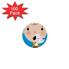 Snoopy 1  Mini Buttons (100 Pack)