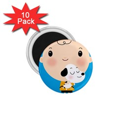 Snoopy 1.75  Magnets (10 pack)