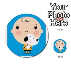 Snoopy Multi Purpose Cards (round)