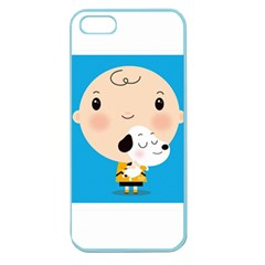 Snoopy Apple Seamless iPhone 5 Case (Color)