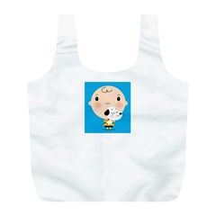 Snoopy Full Print Recycle Bags (L)