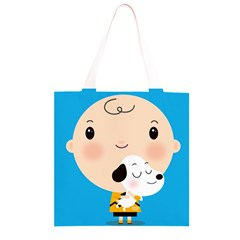 Snoopy Grocery Light Tote Bag