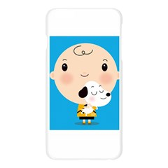 Snoopy Apple Seamless iPhone 6 Plus/6S Plus Case (Transparent)
