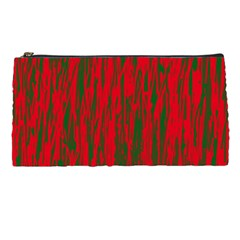 Red and green pattern Pencil Cases