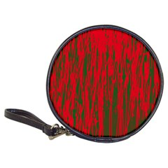 Red and green pattern Classic 20-CD Wallets