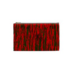 Red and green pattern Cosmetic Bag (Small)