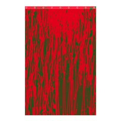 Red and green pattern Shower Curtain 48  x 72  (Small)