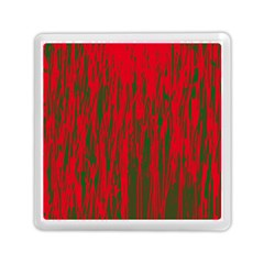 Red and green pattern Memory Card Reader (Square)