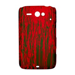 Red and green pattern HTC ChaCha / HTC Status Hardshell Case